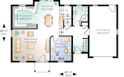 house with attic floor plan attic bonus space 2165dr 2nd floor master suite bonus room cad available canadian