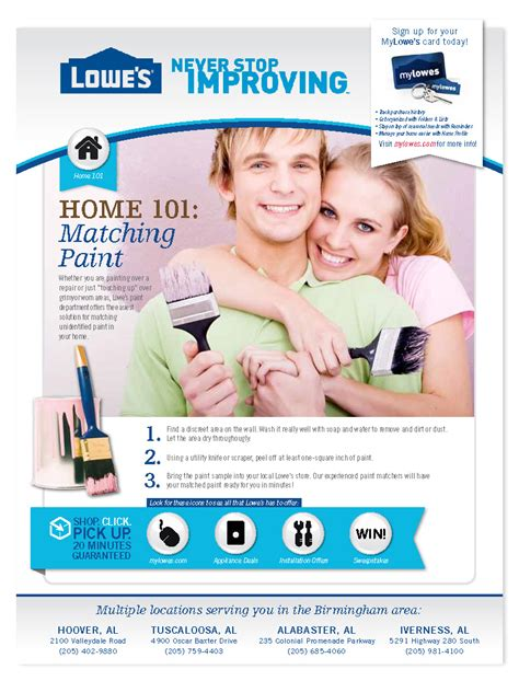 Lowe S Home Improvement Sweepstakes - print advertising by lauren grecus at coroflot com