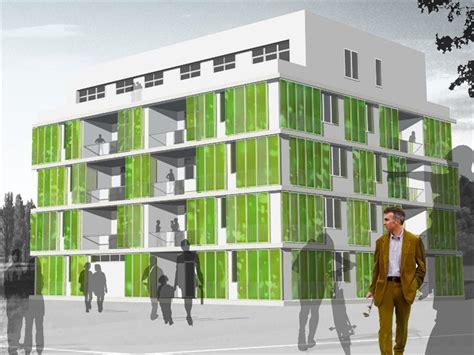 micro algae prove ideal  making green facades