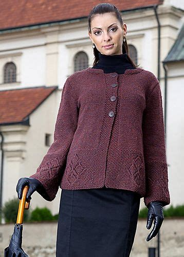 Sweater Button Diamon Grey Ab 17 best images about knitting jackets on cable