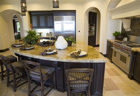 curved island kitchen designs curved kitchen island design ideas
