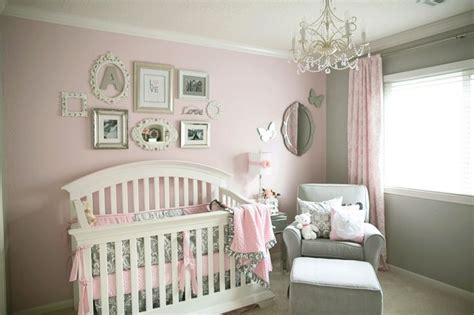 baby girl themes not pink nurseries and parties we love this week pink and gray