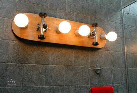 Baseball Light Fixture by Lighting Fixtures Made From Bottles Skateboards Baseball