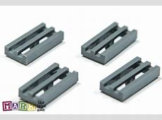 Pack of 4 Lego 2412 1×2 Radiator Grille 4210631 | Mad ... Lego 10178 Parts