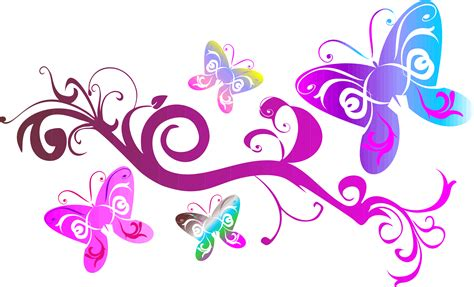 Soft Transparant Flower Butterfly Cover Casing Iphone clipart butterflies flourish