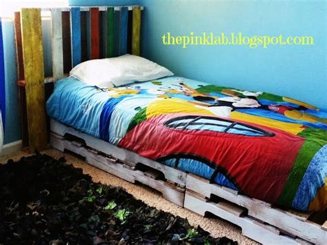 pallet twin bed diy pallet twin bed frame and headboard great kid ideas