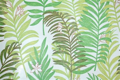 botanical wallpaper 1970s botanical vinyl vintage wallpaper hannah s