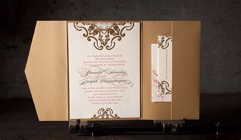 Printing Press Wedding Invitations by Wedding Invitation Printing Amulette Jewelry