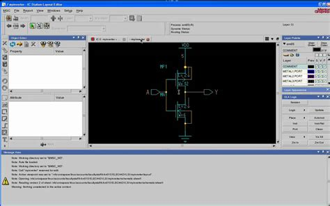 layout design mentor graphics vlsi tutorial 3 schematic driven layout using mentor
