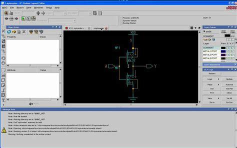 layout vlsi tutorial vlsi tutorial 3 schematic driven layout using mentor