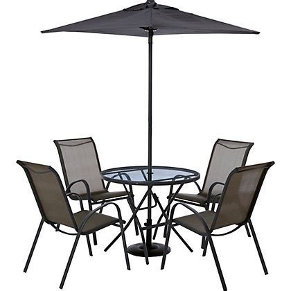 metal garden chairs homebase andorra 4 seater metal garden furniture set home delivery