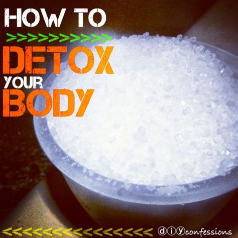Chemical Detox Bath by Detox Bath 2 Cups Epson Salt 1 Cup Baking Soda Hydrate