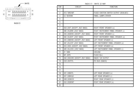 2004 dodge stratus sxt stereo wiring diagram 2004 chevy