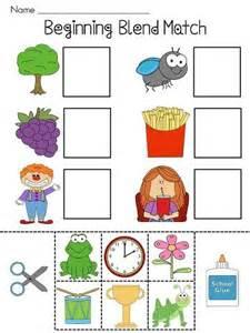 beginning blends worksheets worksheets initials and phonics