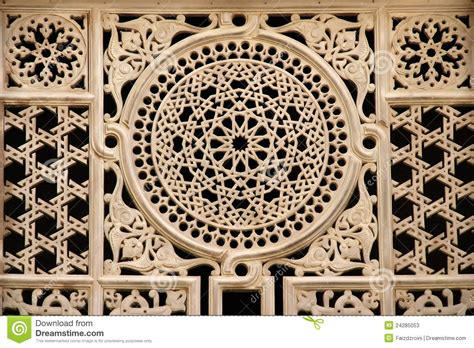 Vintage Poster Motif Kayu Opsional 9 window ornament stock image image of masjid