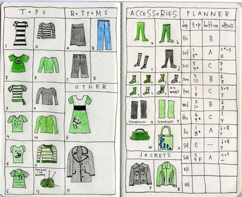 Travel Wardrobe Planner by Appunti Di Abbigliamento Da Viaggio Blomming Su