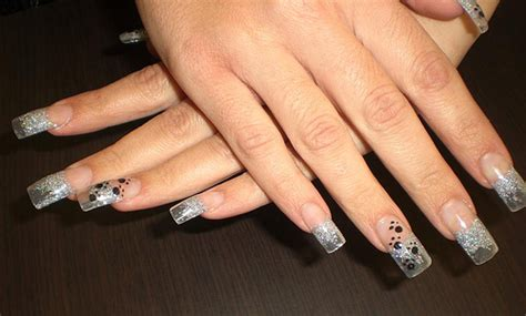 imagenes de uñas acrilicas transparentes u 241 as decoradas saludgl flickr