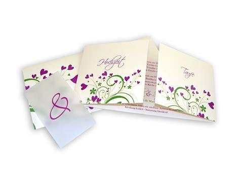 Hochzeit Und Taufe Einladung by Edle Leinenpapier Einladungen Liebe Die Erbl 252 Ht