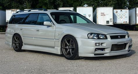 nissan stagea lastcarnews nissan stagea r34 gt r wagon will you