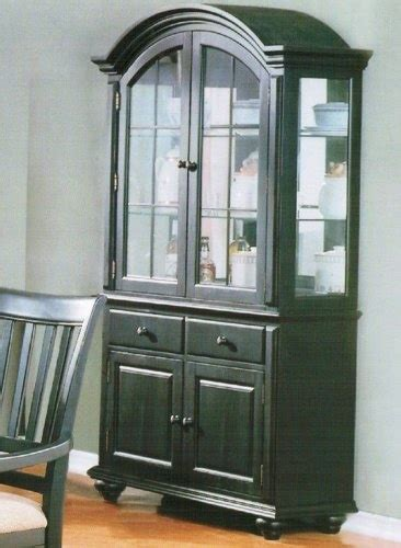 dining room buffets and hutches pantry versatile china cabinet buffet hutch contemporary black finish