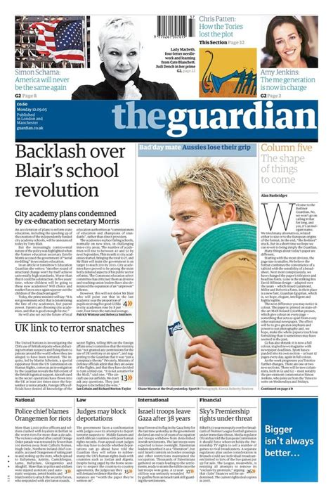 layout of guardian newspaper 97 best images about larger format on pinterest david
