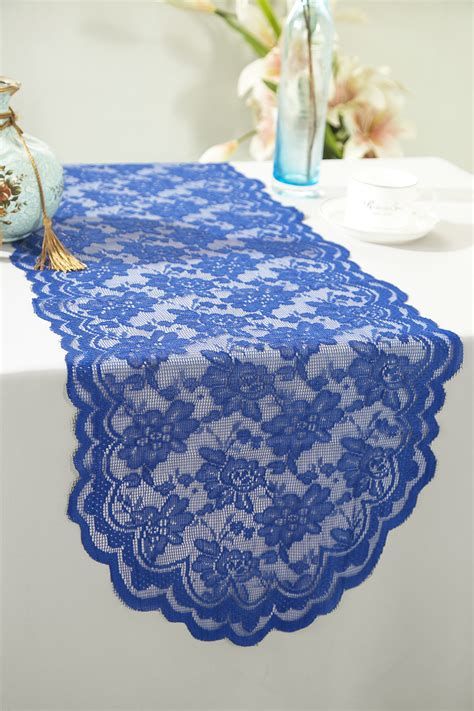 royal blue table runners royal blue lace table runners wedding