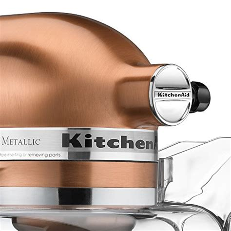 KitchenAid KSM152PSCP 5 Qt. Custom Metallic Series with Pouring Shield ? Satin Copper