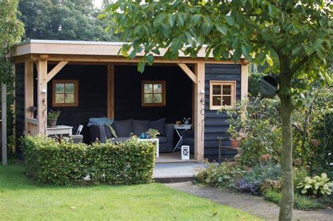 ideeen voor tuinhuis dak douglas veranda holten idee 235 n voor de tuin pinterest