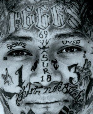 mara salvatrucha tattoos mara salvatrucha ms13 ms18