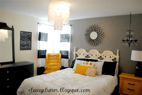 yellow master bedroom black and yellow master bedroom makeover classy clutter