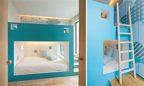built in bunk beds 12 inspirational exles of built in bunk beds contemporist