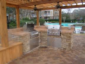 back yard kitchen ideas design patios outdoor kitchens