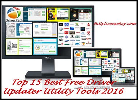 best free utilities 15 best free driver updater utility 2017 tools to update