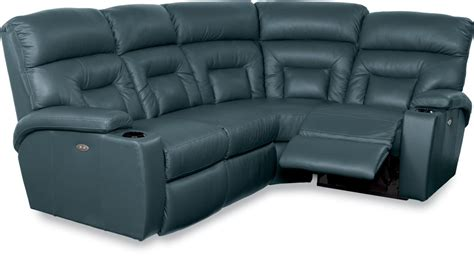 4 Pc Sectional Sofa La Z Boy Spectator 4 Pc Reclining Sectional Sofa With Powerrecline Zak S Furniture