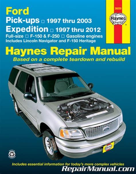 haynes ford pickup   expedition lincoln navigator   repair manual