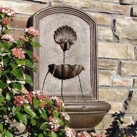 17 best ideas about outdoor wall fountains on