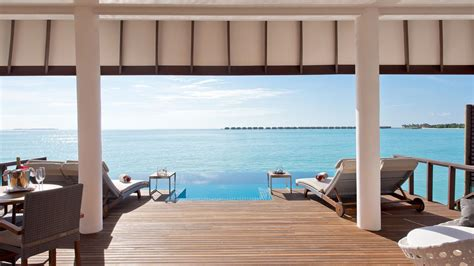 two bedroom premium villas maldives ocean villa luxury 2 bedroom ocean pool villa