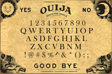 How To Make A Wigi Board Out Of Paper - ouija board