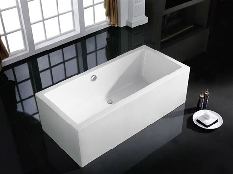 rectangular bathtubs bliss bath kitchen