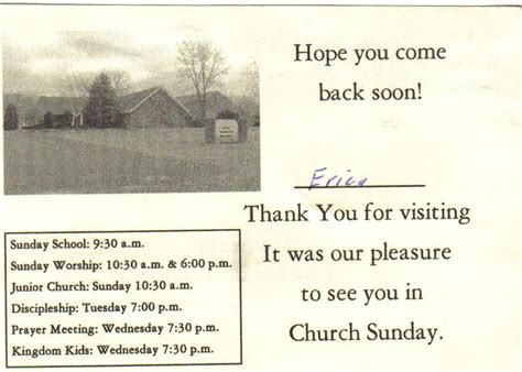 thank you letter to visiting pastor church hopping church 8 thank you letter visit