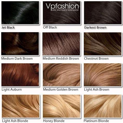 tavola dei colori per capelli come prendersi cura delle extension vpfashion