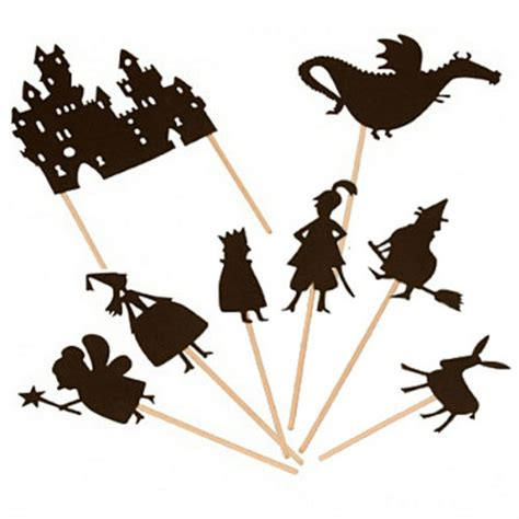 shadow puppet templates free printable puppets