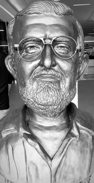 Busto do imortal Abrahão Crispim será fixado próximo dia
