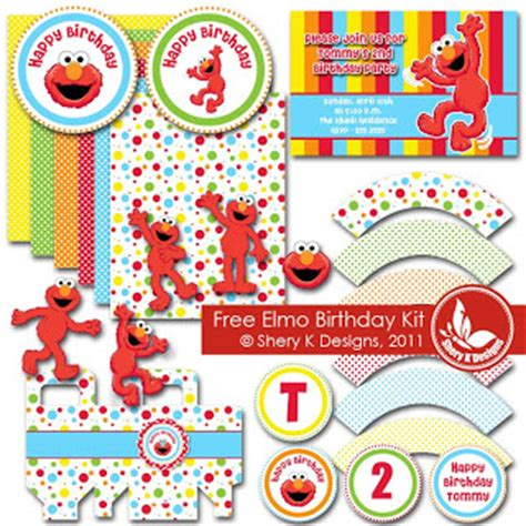 free elmo printable birthday decorations diy elmo party with free printables easy green mom