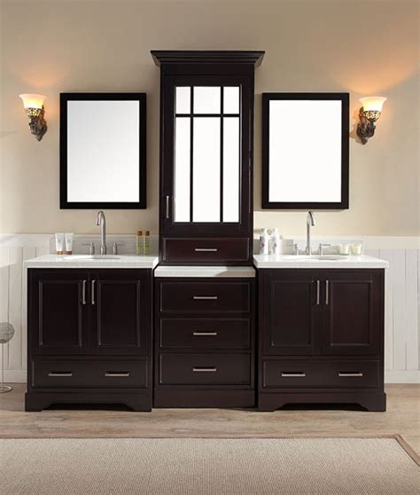 ariel stafford double   transitional bathroom