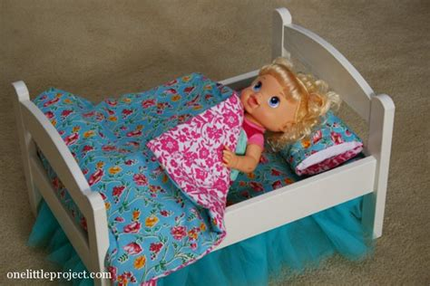 baby alive bed how to make a reversible blanket for an ikea doll bed