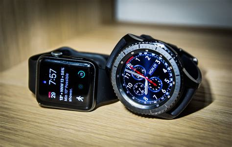 Apple Series 4 Vs Garmin 935 by Apple Vs Galaxy Gear S3 The Two Smartwatches Of 2017