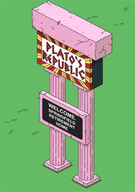 Plato S Closet Springfield by Plato S Republic Sign The Simpsons Tapped Out Wiki