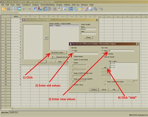 tutorial spss statistics statistics tutor data recode spss tutorial 1