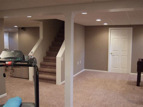 colors for basements finished basement paint color ideas